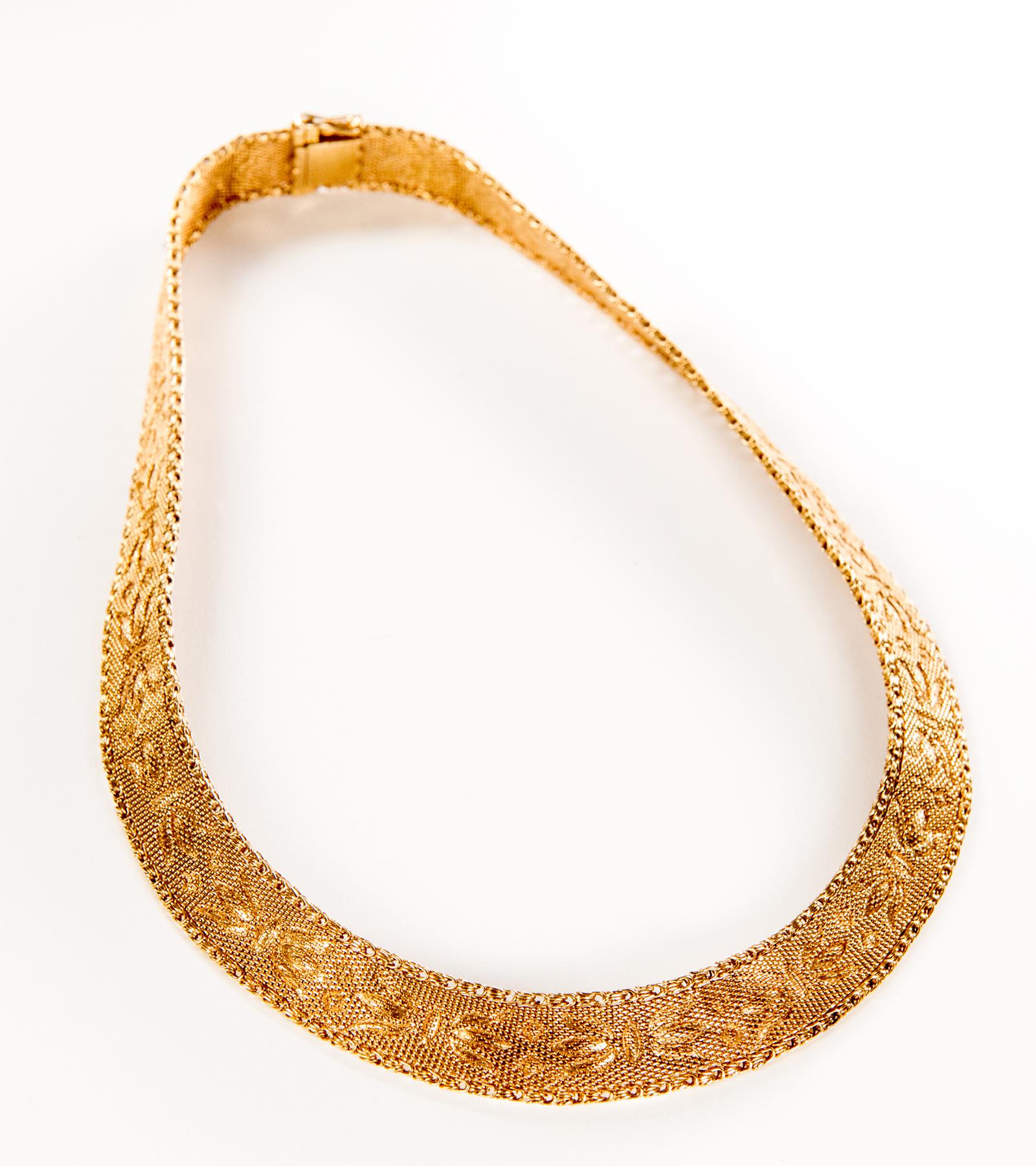 Gargantilla Cleopatra Oro Amarillo