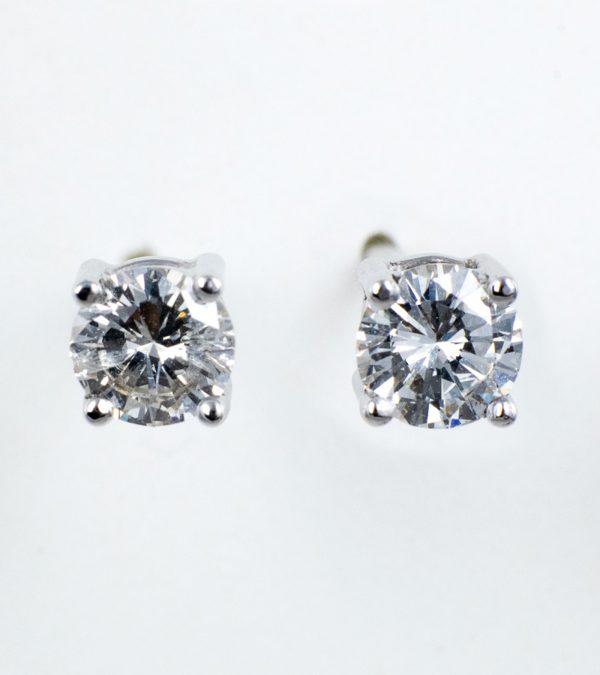 Pendientes Diamantes Dormilonas