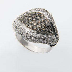 Anillo Diamantes Brown