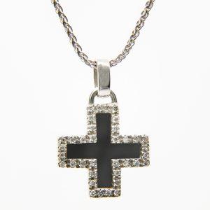Gargantilla Cruz Diamantes