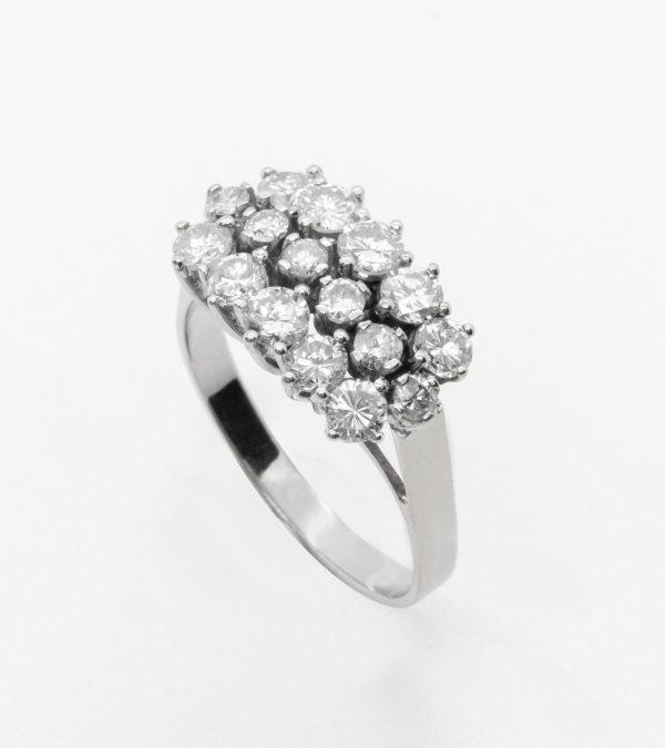 Anillo Vintage Diamantes