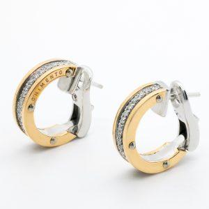 Pendientes Chimento Oro Diamantes