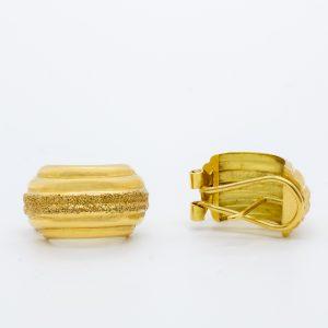 Pendientes Oro Amarillo 18k Redondos