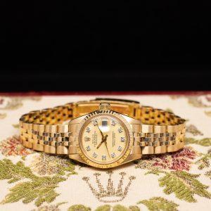Rolex Datejust Oro Amarillo y Diamantes 6916